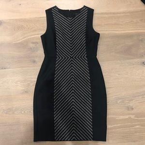 J. Crew black wool sleeveless dress
